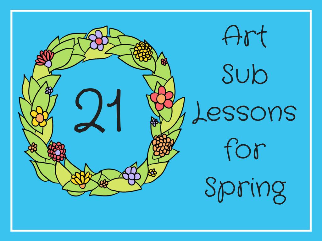 Art Sub Lessons