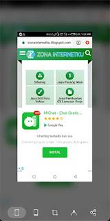 Cara ScreenShot Panjang Di Android Infinix Smart 2