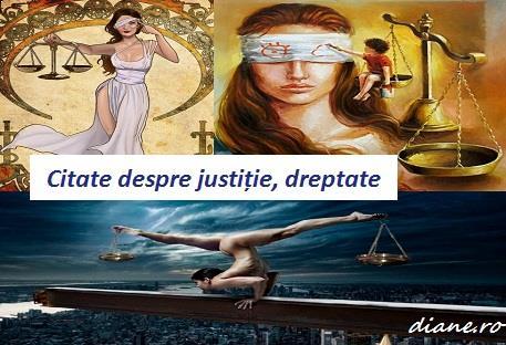Citate, aforisme, maxime despre justiție, dreptate