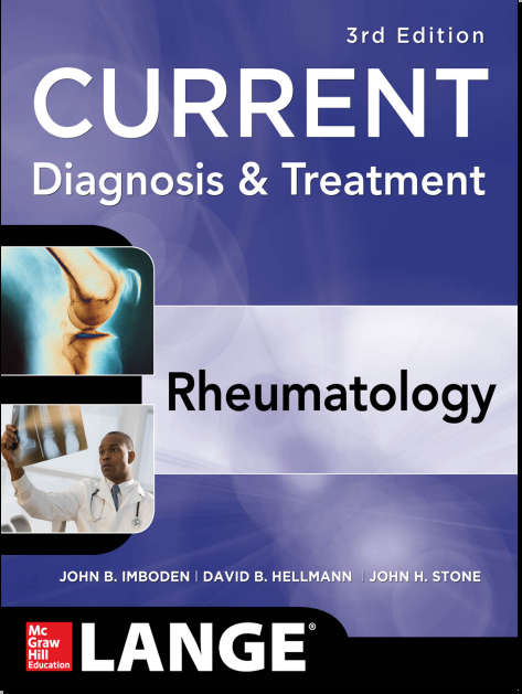CURRENT Diagnosis & Treatment - Rheumatology 3rd Edition [PDF]