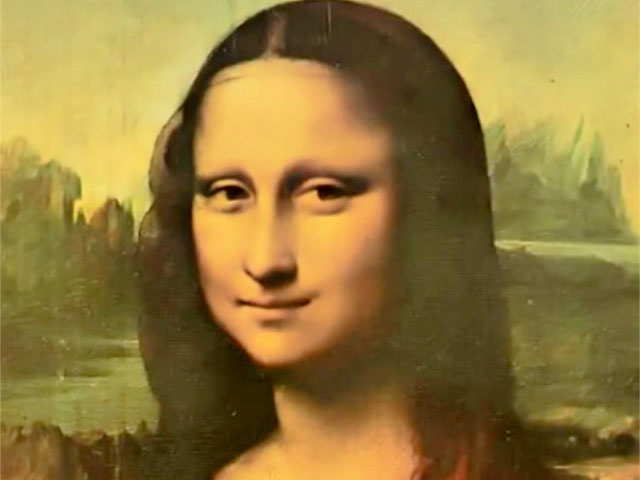 Mensagem subliminar na Mona Lisa