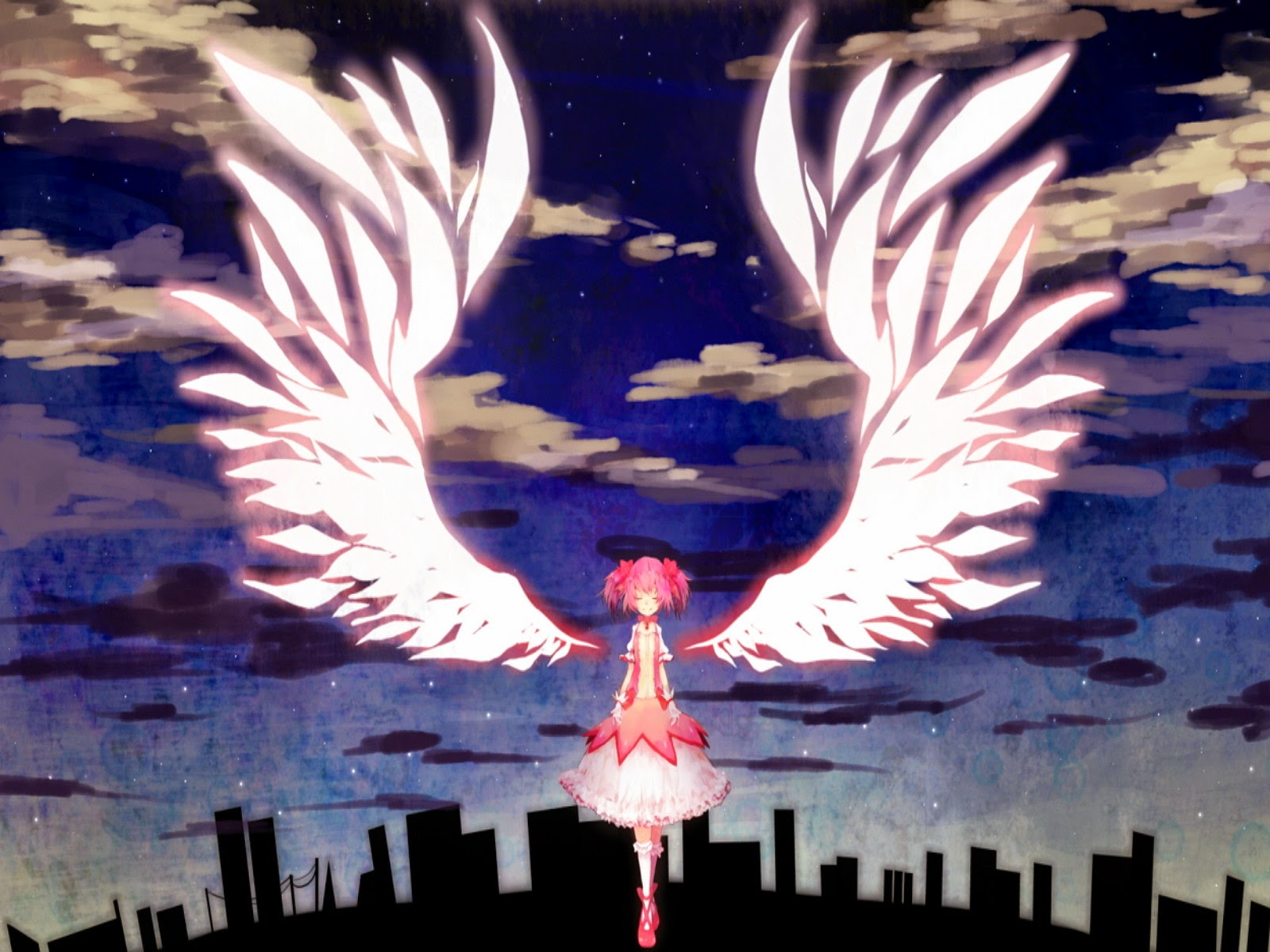 89 Foto Gambar Anime Bersayap Paling Bagus