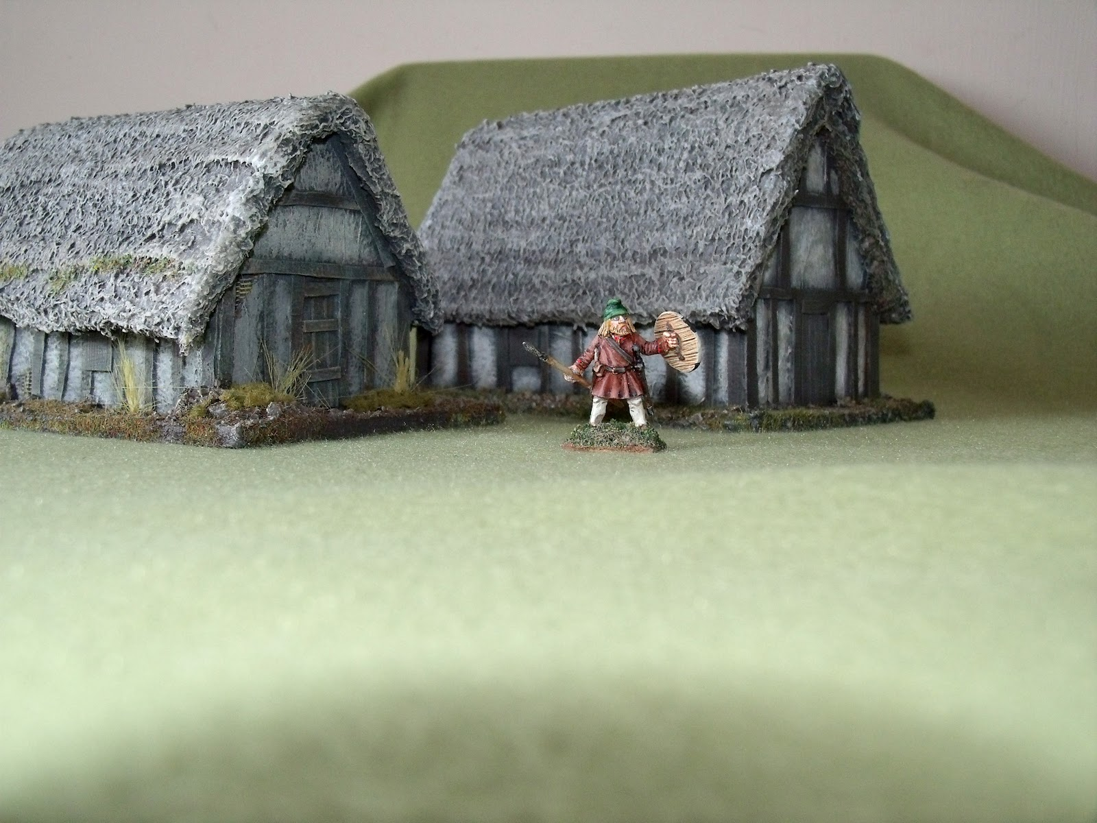 Mitch S Wargaming And Modelmaking Sub Roman Buildings 1
