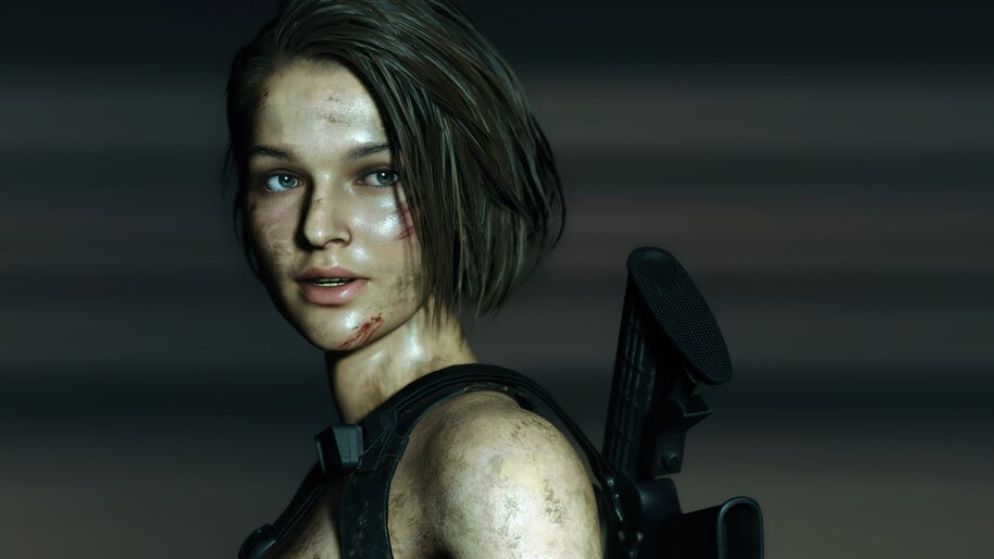 Jill Valentine, RE3, Remake, Screenshot, 4K, #5.1927