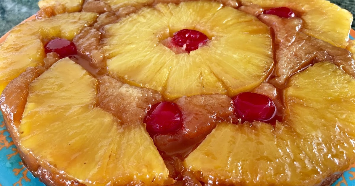 Mystery Lovers Kitchen Pineapple Upside Down Cake Recipe
