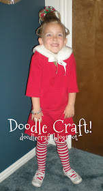 Doodlecraft Cindy Lou Who Hairdo