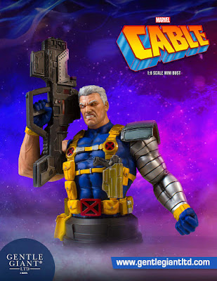 Marvel's Cable X-Men Mini Bust by Gentle Giant