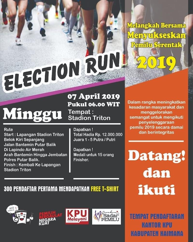 Election Run - Kaimana • 2019