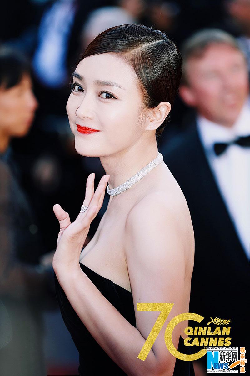 Qin Lan at Cannes