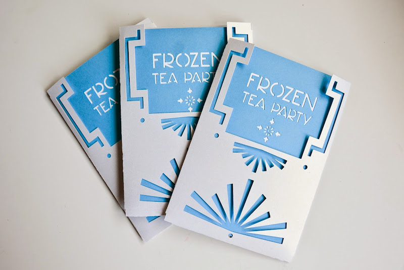 Top Aesthetic Nest: Craft: Frozen Birthday Party Invitation (Free  JA75