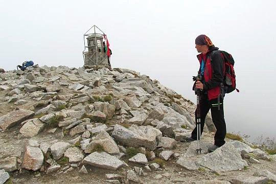 Obelisk na szczycie Musały.