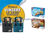Logo Concorso Algida ''Prova a vincere uno zaino Vintage'': in palio 500 zaini Cornetto