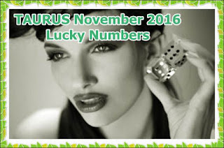 TAURUS November 2016 Lucky Numbers Numerology Forecast
