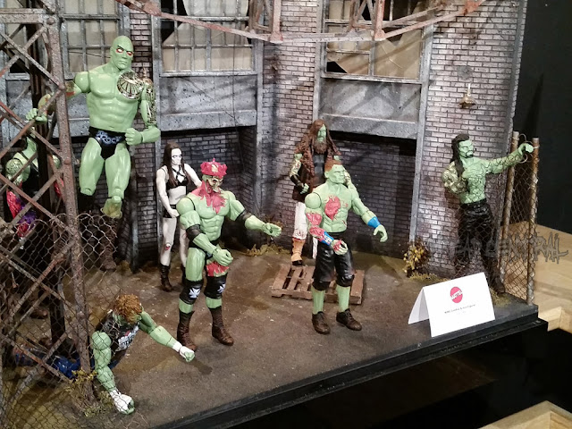 WWE Zombies Series 2 - anteprima del Toy Fair 2016