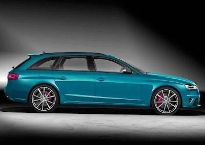 2016 audi vue latérale RS4