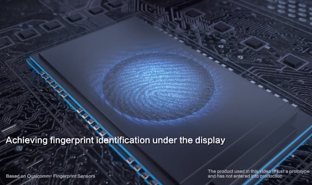 How it Under Display Fingerprint can work?
