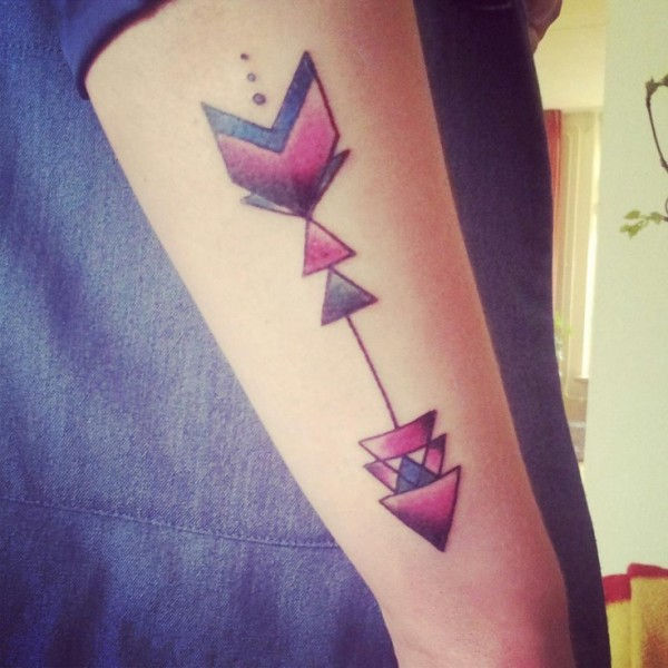 22 Remarkable Arrow Tattoos Designs & Meanings