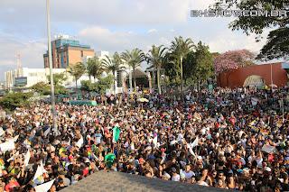 IMG 9926 - 13ª Parada do Orgulho LGBT Contagem reuniu milhares de pessoas