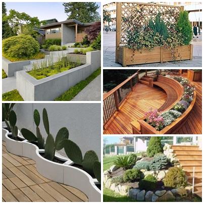 diseo de jardineras vida en verde
