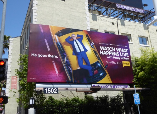 Watch What Happens Live Emmy fyc billboard