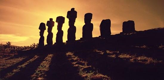 mistérios da ilha de pascoa