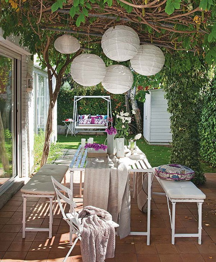 Outdoor Party Spring Tables Decoration For Adults 7