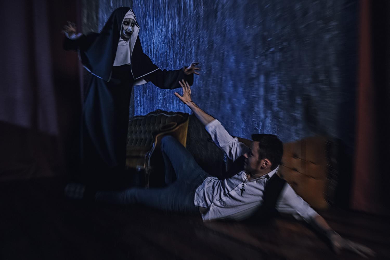Заклятие 2, The Conjuring 2, Монахиня, The Nun, косплей, cosplay, ужасы, хоррор, horror, moonsugar, Елена Самко