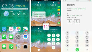 Tema iOS 12 itz For Vivo