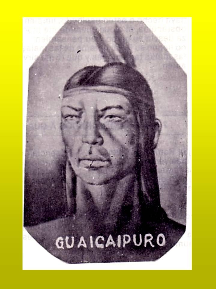 Cacique Guaicaipuro Para Colorear Proyecto Guaicaipuro