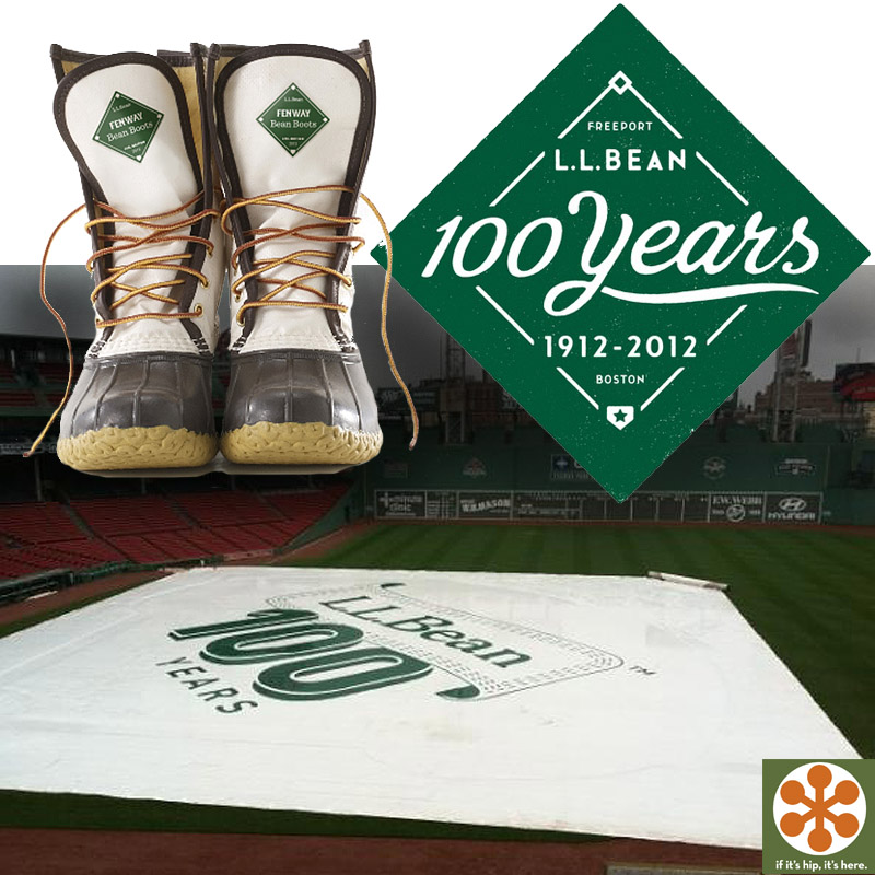 Boots Created With Fenway Park Rain Tarp