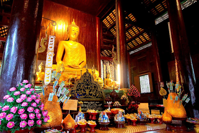 Temple Buddha Monument Travel Photography Chiang Mai Thailand