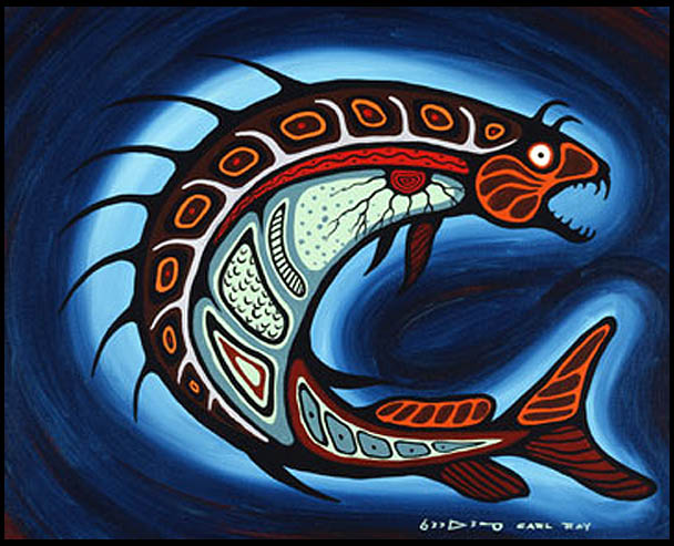 Carl Ray Native Woodland artist