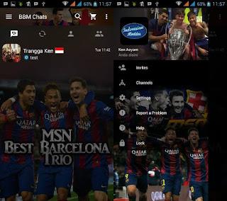 BBM Trio MSN ( Messi, Suarez, Neymar Jr)