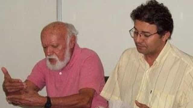 Marco Aurélio indica e Adalberto Franklin. Na foto, ao lado do poeta Nauro mACHADO