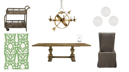 Spring Dining Room with Arhaus