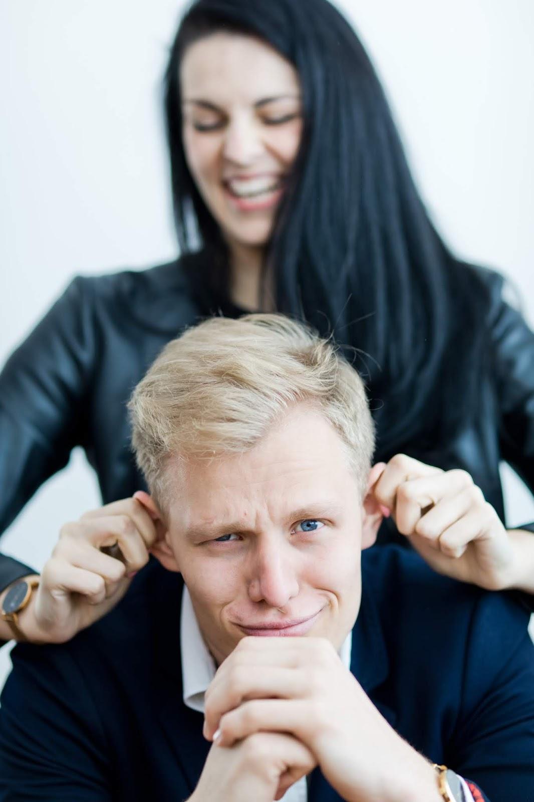 vzťah medzi mužom a ženou