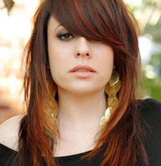 Cortes de pelo largo para mujeres fotos
