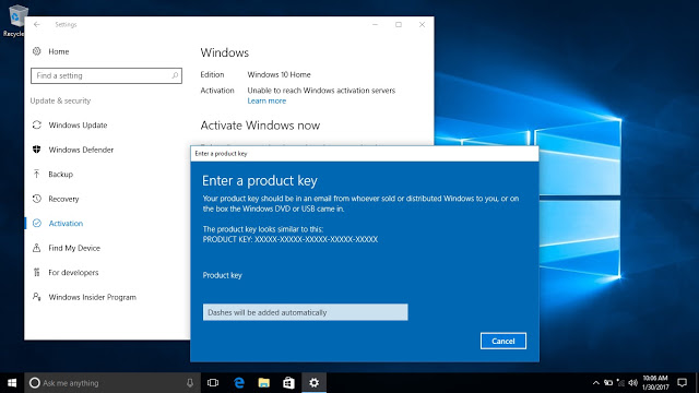 windows 10 activation key free Archives