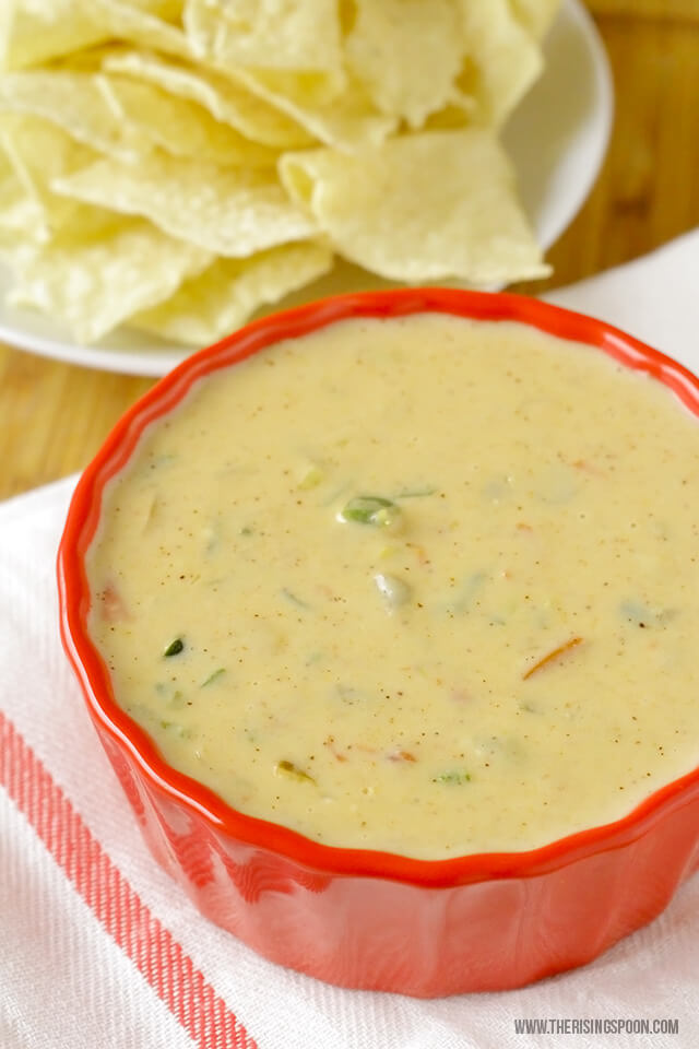 Homemade Queso Dip Recipe with Real Food Ingredients