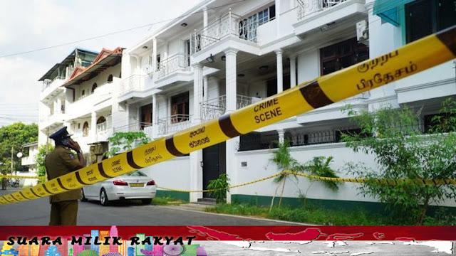 Istri Pelaku Yang Sedang Hamil Meledakakn Diri Ketika Polisi Menggerebek Rumahnya