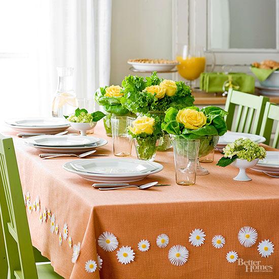 decoração almoço páscoa