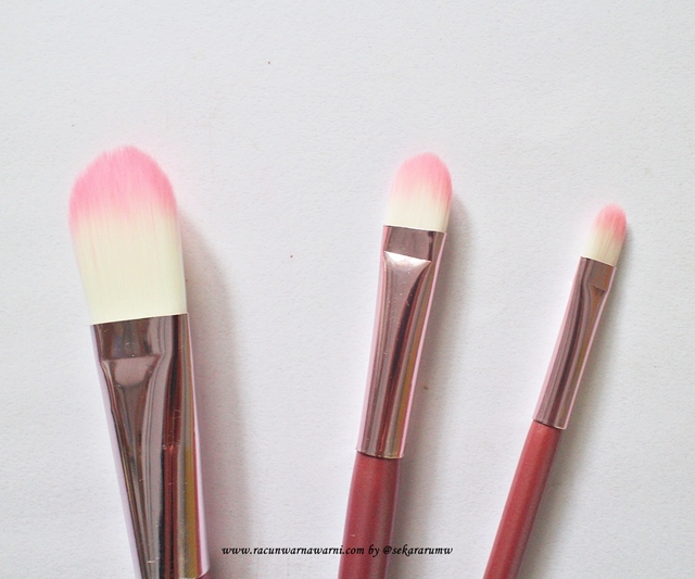 Detail Brush Pink Set
