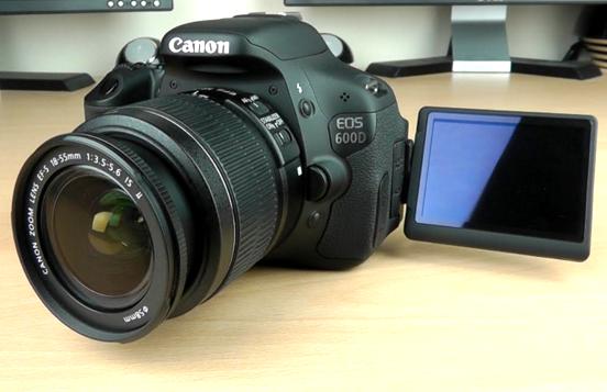 Review Spesifikasi Kamera Dslr Canon Eos 600D Tahun 2016
