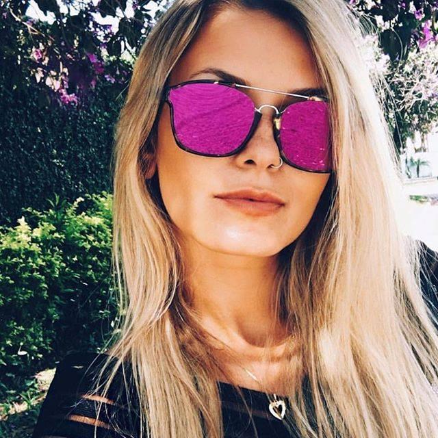 9b0d8bc7c Eu uso Óculos: Dior Abstract Rosa Espelhado