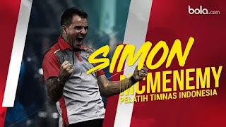 Simon McMenemy pelatih baru Timnas dengan 5 fakta menarik