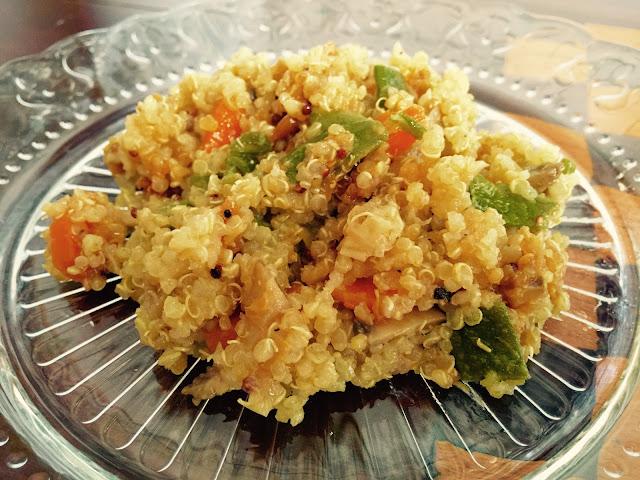 Quinoa-verduras-pollo