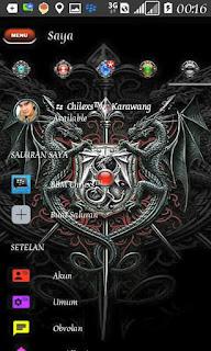 Download BBM MOD Saint Saiya Vs Dragon Style New Version 3.3.1.24 APK Terbaru Gratis 2017