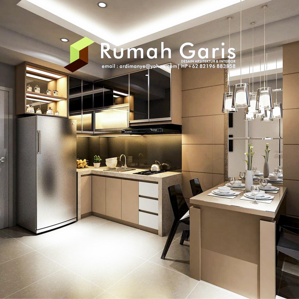 desain apartemen studio terbaik