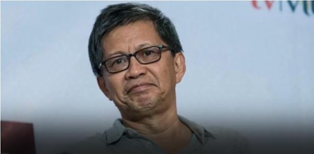 Pengalaman Buruk Rocky Gerung Diobati Sikap Polisi Lampung