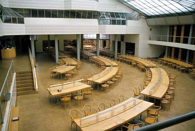 Facultad de Historia de Cambridge | James Stirling | Biblioteca histórica Seeley